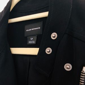 Club Monaco Jackets & Coats - Club Monaco Black Vest